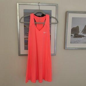 Neon golf/tennis dress!